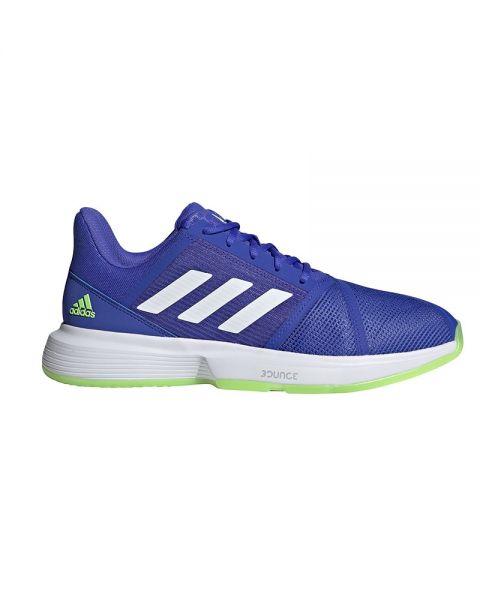 Adidas Courtjam Bounce Azul Blanco H68895