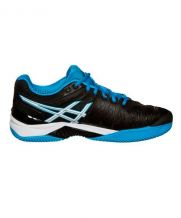ASICS GEL RESOLUTION 6 CLAY NEGRO AZUL E503Y 9043