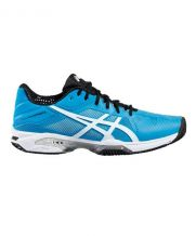 ASICS GEL SOLUTION SPEED 3 CLAY AZUL BLANCO E601N 4301