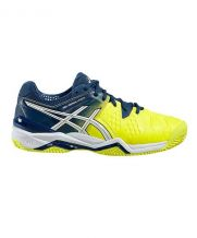 ASICS GEL RESOLUTION 6 CLAY AZUL AMARILLO E503Y 0701