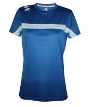 CAMISETA PADEL SOFTEE CLUB ROYAL BLANCO MUJER