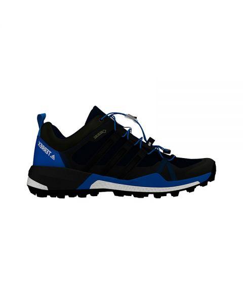 buy online b346b e4aee ... Zapatillas trail hombre. ADIDAS TERREX SKYCHASER GTX NEGRO AZUL CQ1743