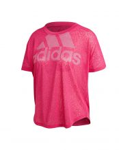 CAMISETA ADIDAS MAGIC LOGO ROSA MUJER