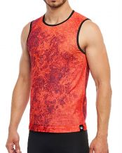 CAMISETA MICROPERFORADA HG SPORT SPIKE NARANJA