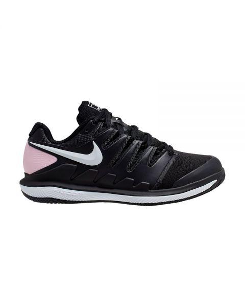 Nike Court Air Zoom Vapor X Negro Rosa Mujer Aa8025-003