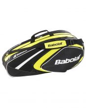 RAQUETERO BABOLAT RACKET HOLDER 6 RAQUETAS CLUB AMARILLO