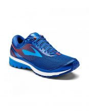 BROOKS GHOST 10 AZUL ROJO 1102571D411
