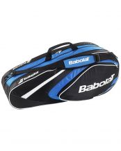 RAQUETERO BABOLAT RACKET HOLDER 6 RAQUETAS CLUB AZUL
