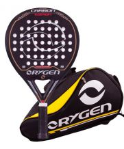 PACK ORYGEN CARBON EDITION JUNIOR Y PALETERO ORYGEN AMARILLO