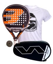 PACK BULLPADEL LEGEND 2.0 LIMITED EDITION Y PALETERO VARLION HEXAGON PLATA