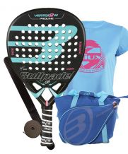 PACK BULLPADEL VERTEX 2 WOMAN Y BOLSO BULLPADEL