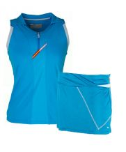 PACK FALDA VARLION MD12S08 AZUL Y POLO VARLION TURQUESA