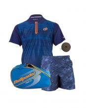 PACK BULLPADEL PALETERO POLO TRIPEI Y SHORT