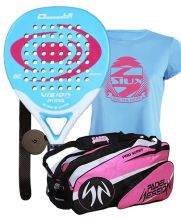 PACK VISION OBSESSION 1.5 Y PALETERO PADEL SESSION SERIES PRO