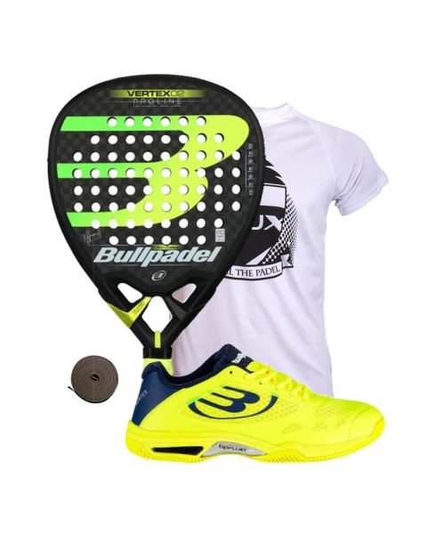 PACK BULLPADEL VERTEX 2 2019 Y ZAPATILLAS