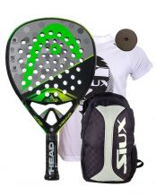 PACK HEAD GRAPHENE TOUCH ALPHA POWER Y MOCHILA SIUX TRAIL 2.0