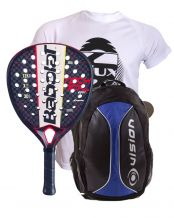 PACK BABOLAT TECHNICAL VIPER Y MOCHILA VISION AZUL