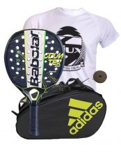 PACK BABOLAT COUNTER VIPER Y PALETERO ADIDAS CONTROL