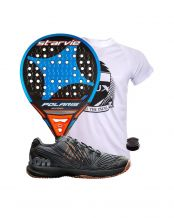 PACK STAR VIE POLARIS CARBON SOFT Y ZAPATILLAS WILSON