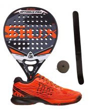 PACK SIUX OPTIMUS PRO Y ZAPATILLAS WILSON KAOS