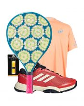 PACK JUNIOR AGATHA CANDY Y ZAPATILLAS ADIDAS BARRICADE CLUB XJ 2