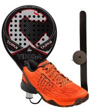 PACK VIBORA TAIPAN EDITION LIQUID Y ZAPATILLAS WILSON KAOS