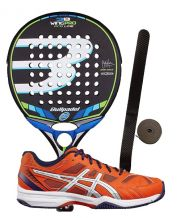 PACK BULLPADEL WING PRO 2016 Y ZAP ASICS EXCLUSIVE