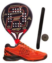 PACK ROYAL PADEL ANY EDICIÓN ESPECIAL Y ZAPATILLAS WILSON KAOS WRS322370