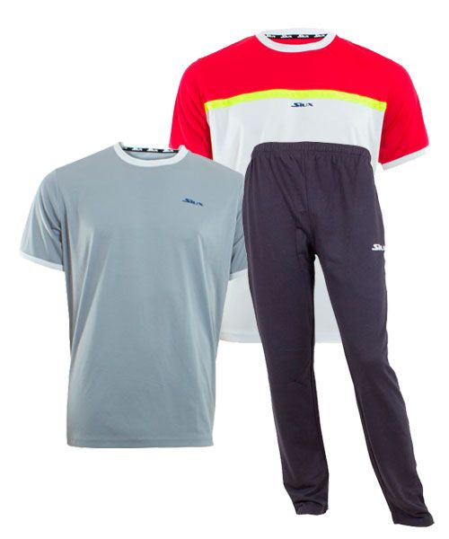 PACK SIUX PANTALON LARGO Y CAMISETAS APOLO CORA