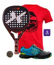 PACK NOX ULTIMATE LEGEND Y ZAPATILLAS WILSON DEVO