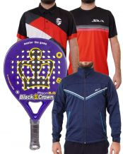 PACK BLACK CROWN PITON 5.0, SOFTSHELL SIUX Y CAMISETA Y POLO SIUX