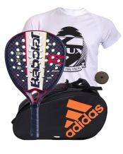 PACK BABOLAT TECHNICAL VIPER Y PALETERO ADIDAS CONTROL