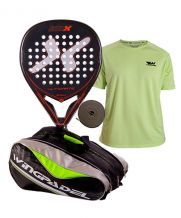 PACK NOX ULTIMATE LEGEND, PALETERO Y CAMISETA WINGPADEL