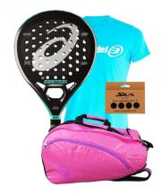 PACK MUJER ASICS CONTROL SOFT Y PALETERO SOFTEE