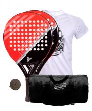PACK 2 ADIDAS FAST COURT Y MOCHILA JOHN SMITH NEGRA