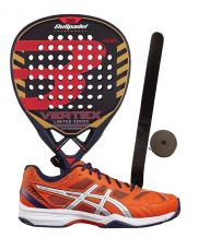 PACK BULLPADEL VERTEX EDICION ESPECIAL Y ZAP ASICS EXCLUSIVE