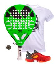 PACK EME MOVE ENJOY Y ZAPATILLAS BULLPADEL BEWER