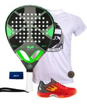 PACK EME TITANIUM GREY Y ZAPATILLAS BULLPADEL BEWER
