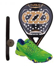 PACK CAZZEC FURIUS Y ZAPATILLAS WILSON KAOS CLAY COURT