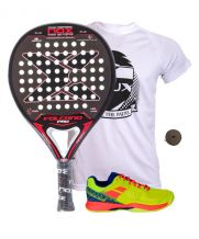 PACK NOX VOLCANO PRO SERIES P.3  Y ZAPATILLAS BABOLAT PULSION