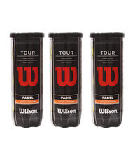 WILSON PÁDEL PACK 3 BOTES