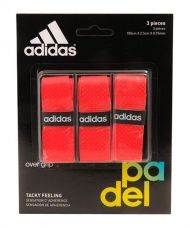 OVERGRIP ADIDAS 3 UNITS ROJO
