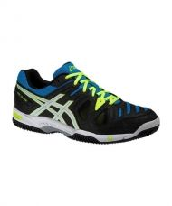 ASICS GEL GAME 5 CLAY NEGRO AZUL E513Y 9901