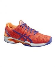 ASICS GEL SOLUTION SPEED 2 CLAY ROJO NARANJA E451Y 0633