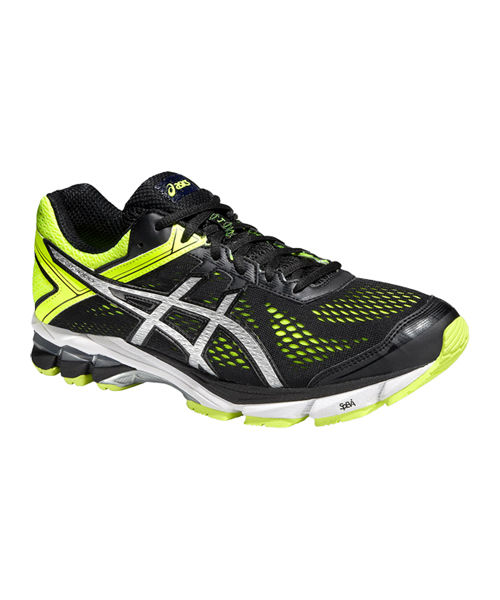 ASICS GT 1000 4 NEGRO Y AMARILLO T5A2N 9093