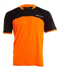 CAMISETA BLACK CROWN BOOM NEGRO NARANJA