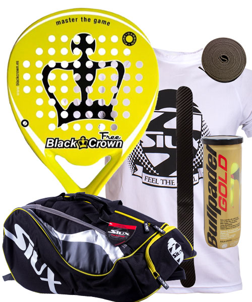 PACK BLACK CROWN FREE Y PALETERO SIUX MASTERCOMBI