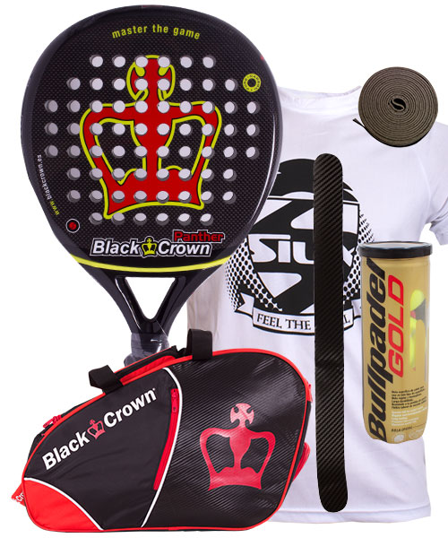 PACK BLACK CROWN PANTHER Y PALETERO BLACK CROWN SUN