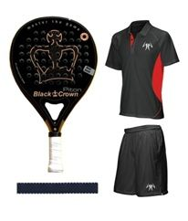 BLACK CROWN PITON PACK DE PADEL