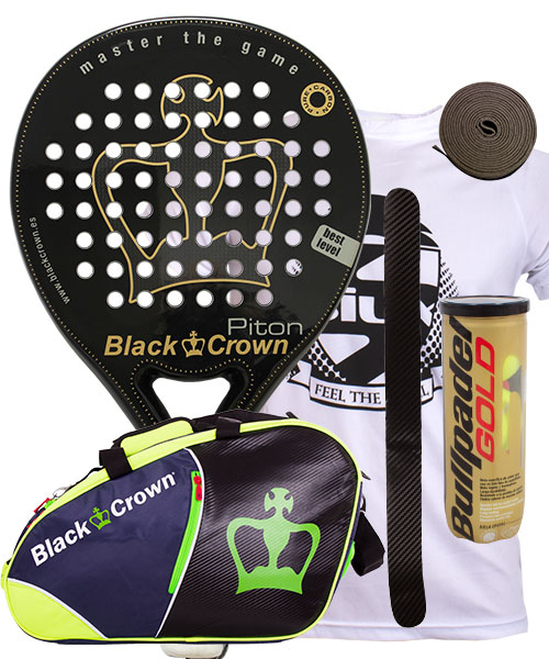 PACK BLACK CROWN PITON Y PALETERO BLACK CROWN SUN